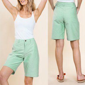 Sage High Waist Bermuda Shorts {Umgee USA}